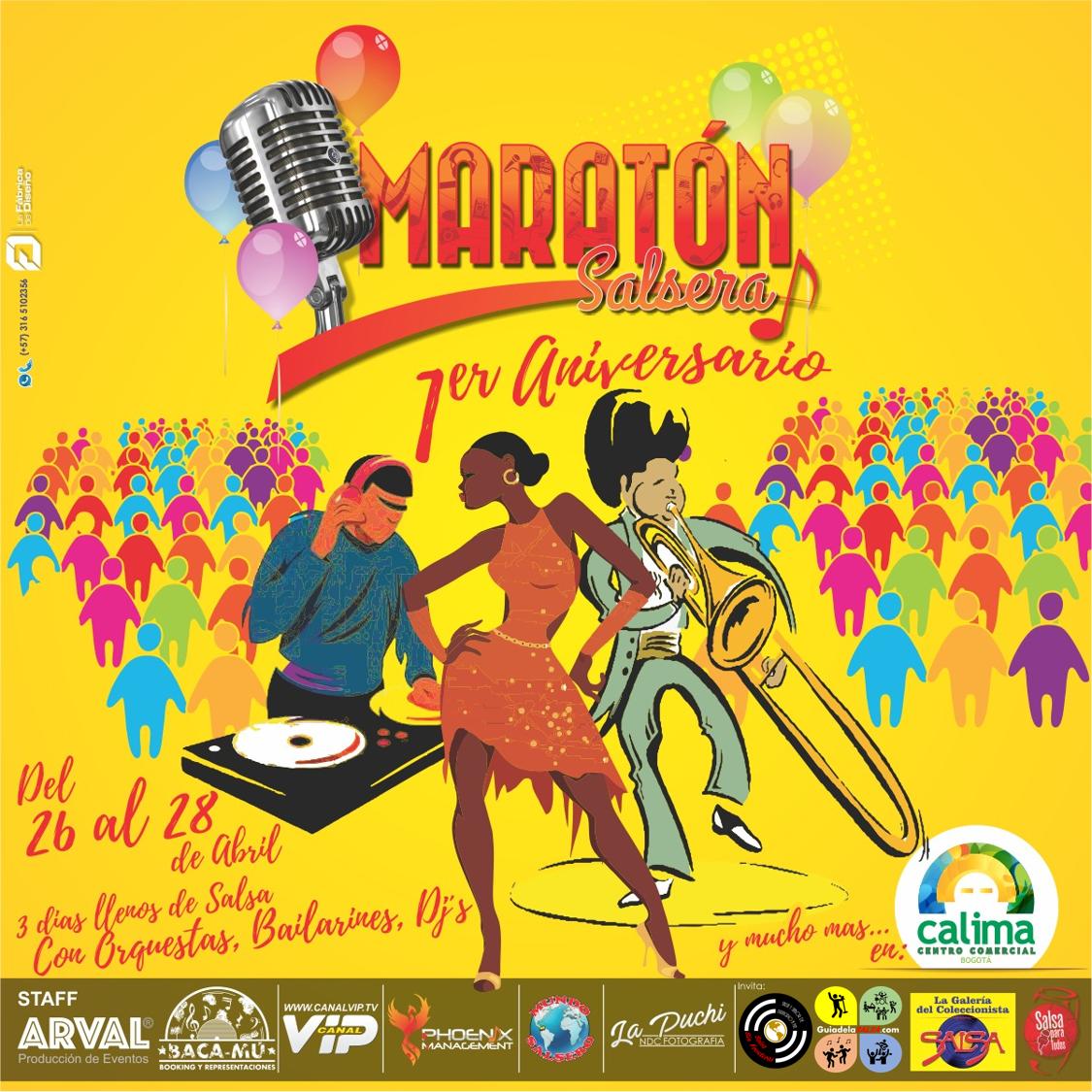 Maratón Salsera 1er Aniversario