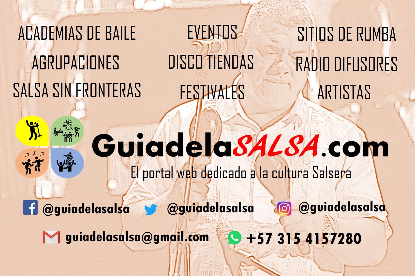 Guía de la Salsa www.guiadelasalsa.com